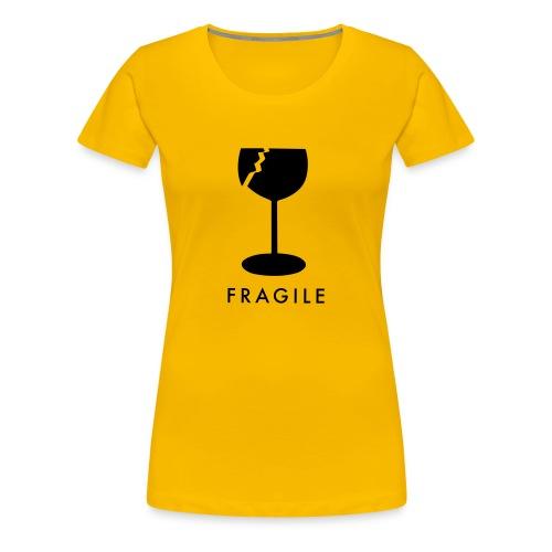 Fragile - Vrouwen Premium T-shirt