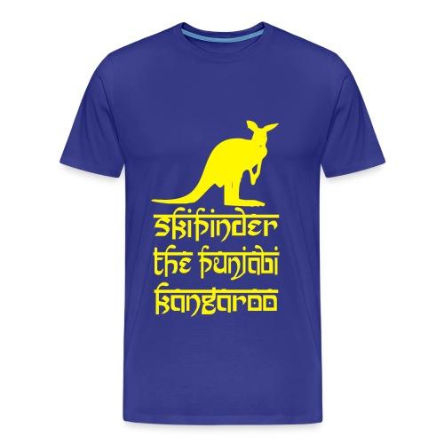 Skipinder: The Punjabi Kangaroo - Men's Premium T-Shirt