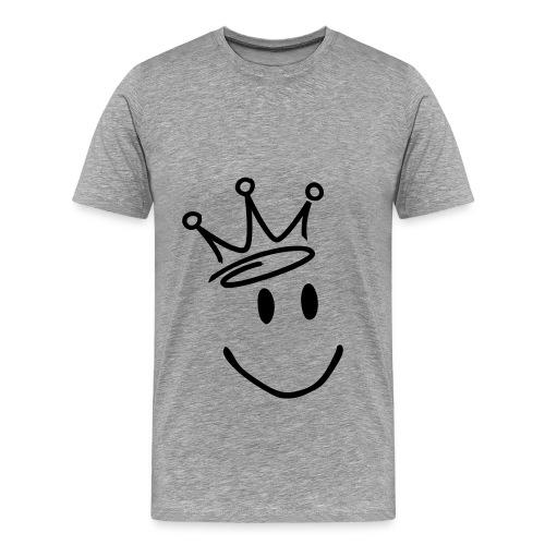 Smile - Premium-T-shirt herr