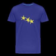 T-Shirts ~ Männer Premium T-Shirt ~ Shirt Sterne Gelb BOY