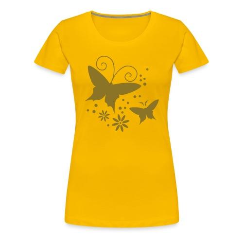 Shirt Schmetterlinge - Frauen Premium T-Shirt