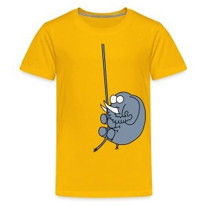 Elefant auf Abwegen / Kinder - Teenager Premium T-Shirt