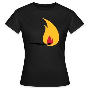Flame - Women's T-Shirt