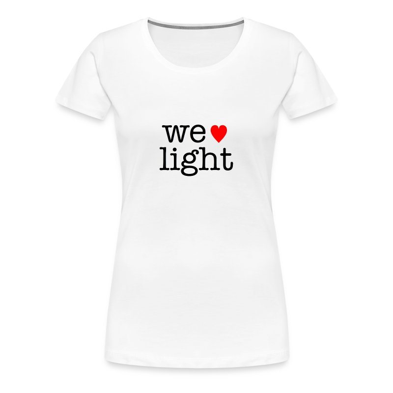 welovelight - Women's Premium T-Shirt