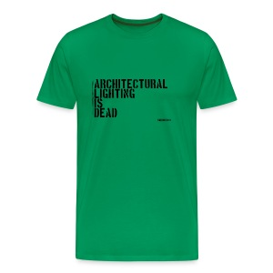 Architectural Lighting is Dead khaki - Men's Premium T-Shirt