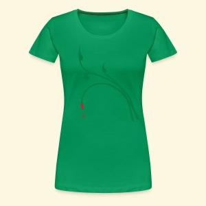 Shirt für Jägerinnen Blattschuss-Tribal im Frühtau *NEU* - Frauen Premium T-Shirt