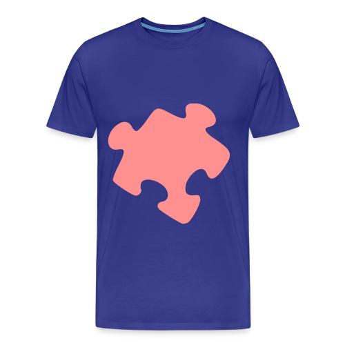 Soetpuzzle - Premium T-skjorte for menn