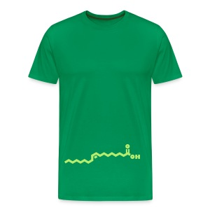 Chemical formula - olive oil - Men's Premium T-Shirt