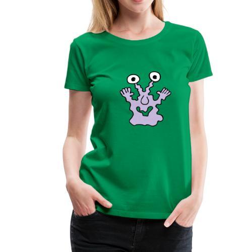 Monstershirt für die Frau - Frauen Premium T-Shirt