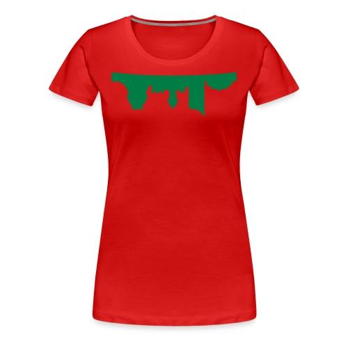 inverted image  - Women's Premium T-Shirt