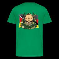 T-Shirts ~ Männer Premium T-Shirt ~ T-Shirt Herren Pekiti hinten