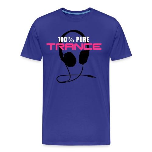 100% pure Trance - Maglietta Premium da uomo