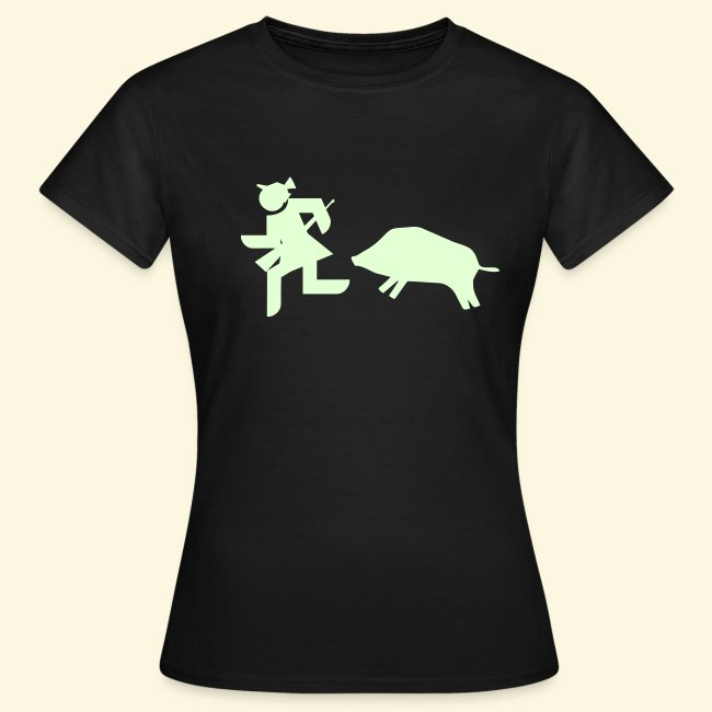 """Shirt für Jägerinnen """"Flucht"""" *NEU*"""