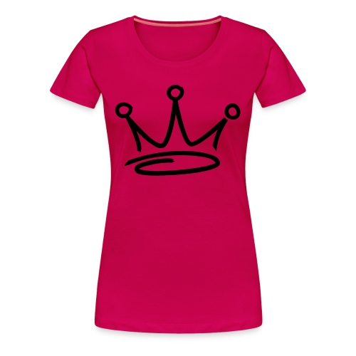 GET BUSY PINK LADY - Women's Premium T-Shirt
