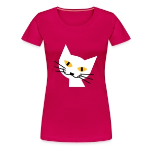 Retro cat - Women's Premium T-Shirt