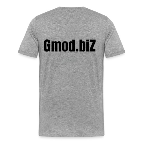 Gmod.biZ Backprint [User] - Men's Premium T-Shirt