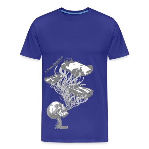 Skull Cars - Men's Premium T-Shirt