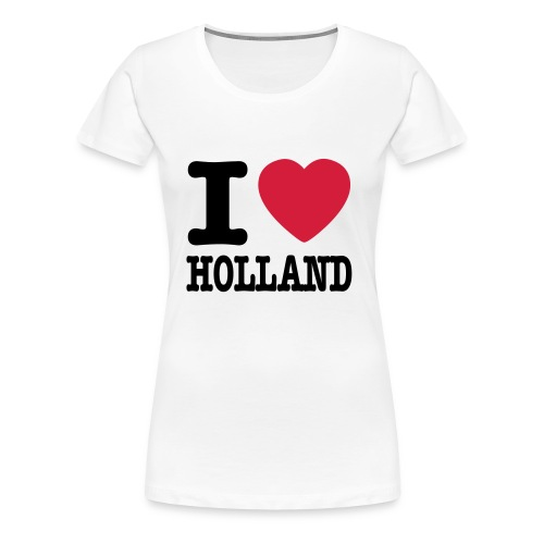Love Holland - Vrouwen Premium T-shirt