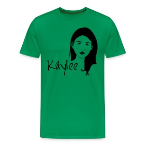 Kaylee - Large Print  - Men's Premium T-Shirt