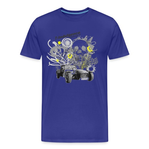 Caterham skull and eye - Men's Premium T-Shirt