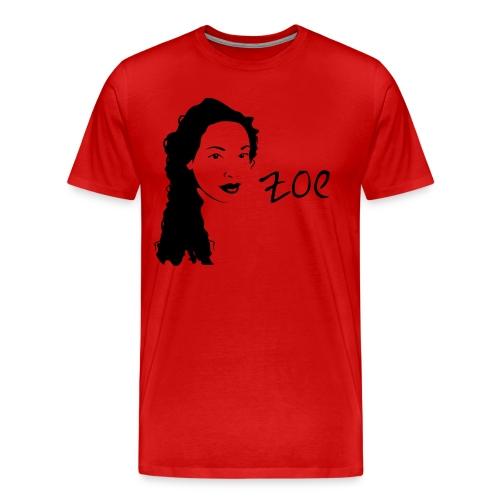 Zoe- large print - Men's Premium T-Shirt