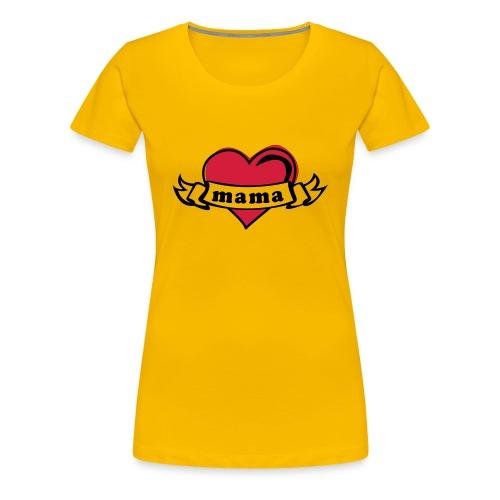 YO AMO MAMA TATTOO - Camiseta premium mujer