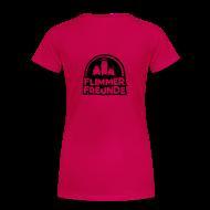 T-Shirts ~ Frauen Premium T-Shirt ~ Frauen Girlieshirt Rosa Flimmerfreunde