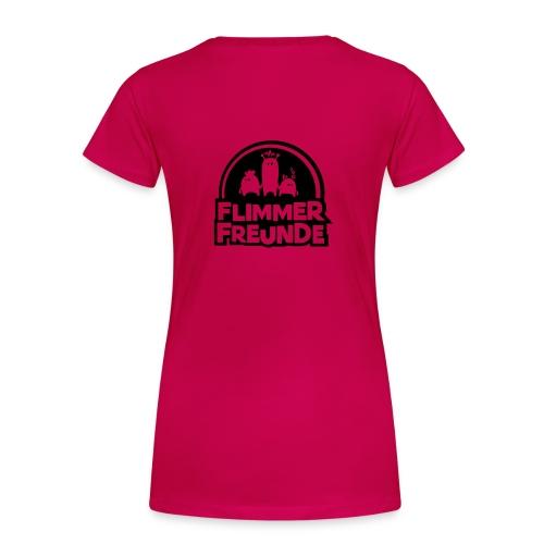 Frauen Girlieshirt Rosa Flimmerfreunde - Frauen Premium T-Shirt