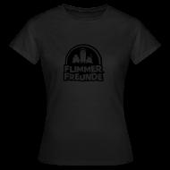 T-Shirts ~ Frauen T-Shirt ~ Frauen Girlieshirt klassisch Flimmerfreunde