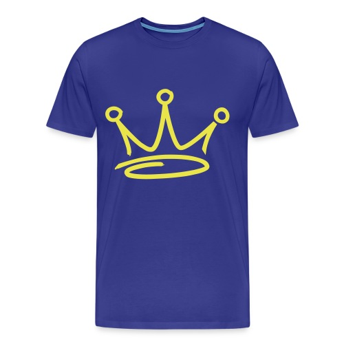 GET BUSY ROYAL TEE - Men's Premium T-Shirt