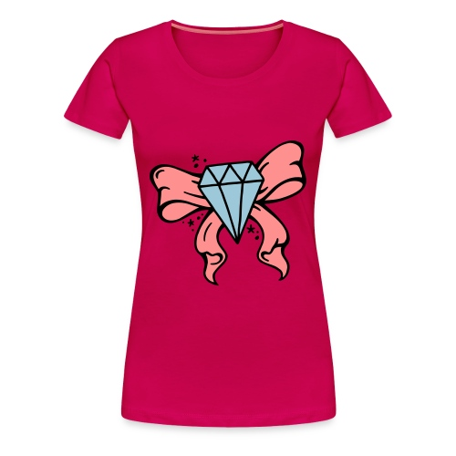 Diamond Shirt - Frauen Premium T-Shirt