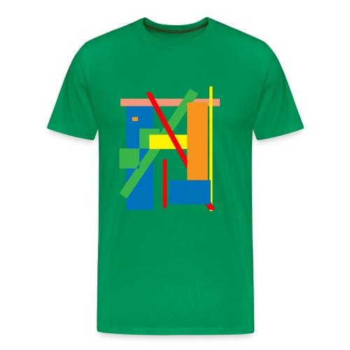 Line Art - Men's Premium T-Shirt