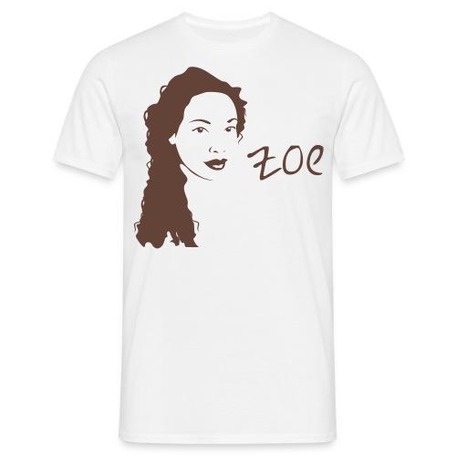 Zoe - Large Print  - Men's T-Shirt