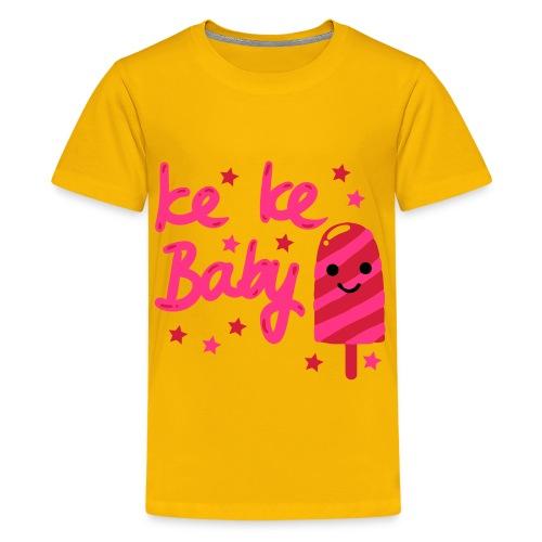 Ice t-skjorte - Premium T-skjorte for tenåringer