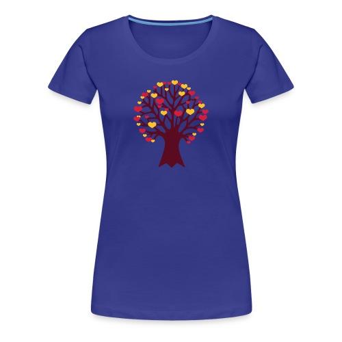 TREE HUGGER WOMENS TEE - Women's Premium T-Shirt