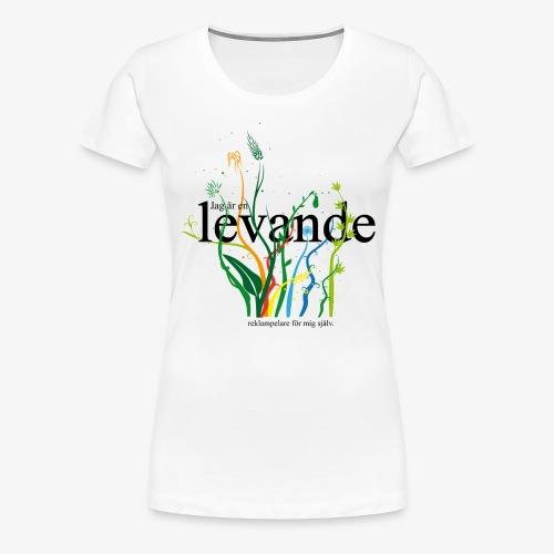 Levande reklampelare - Premium-T-shirt dam