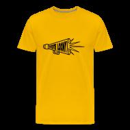 T-Shirts ~ Men's Premium T-Shirt ~ Vote Loony Megaphone - Men's