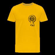 T-Shirts ~ Men's Premium T-Shirt ~ Vote Loony Rosette - Men's