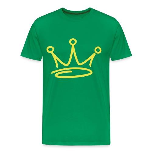 GET BUSY GREEN TEE - Men's Premium T-Shirt