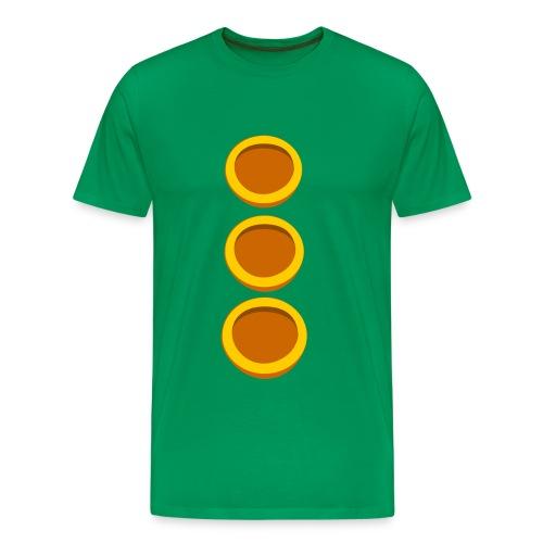 Green Tentacle - Männer Premium T-Shirt