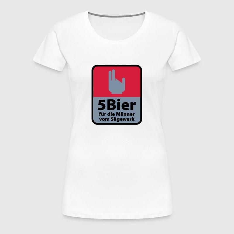 5 bier f r die m nner vom s gewerk t shirt spreadshirt. Black Bedroom Furniture Sets. Home Design Ideas