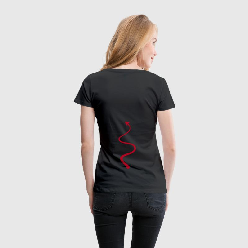 devil tail - Women's Premium T-Shirt