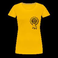 T-Shirts ~ Women's Premium T-Shirt ~ Vote Loony Rosette - Women's