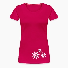 Ruby red flower  T-Shirts