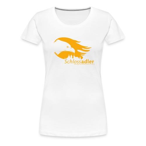 Schlossadler Damen-Shirt - Frauen Premium T-Shirt