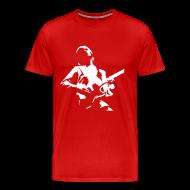 Camisetas ~ Camiseta premium hombre ~ Guitar Custom Bordeaux
