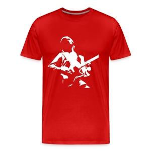 Guitar Custom Bordeaux - Camiseta premium hombre