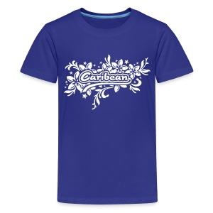türkieses Kinder-T-Shirt Caribean - Teenager Premium T-Shirt