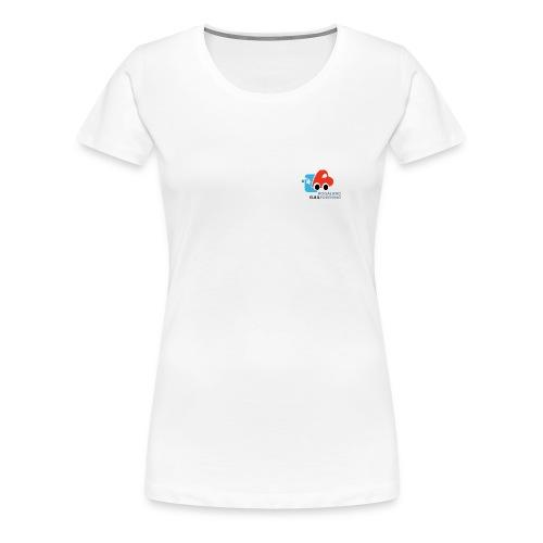 Girlie topp - Premium T-skjorte for kvinner