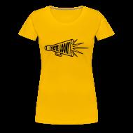 T-Shirts ~ Women's Premium T-Shirt ~ Vote Loony Megaphone - Women's